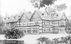 Woore, Bulkeley Hall c.1960