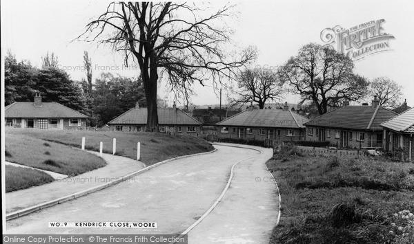 Photo of Woore, Kendrick Close c.1965