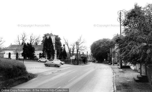 Photo of Woore, Main Road c.1965