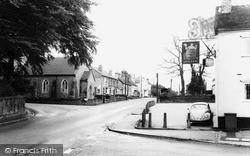 Woore, Nantwich Road c.1965