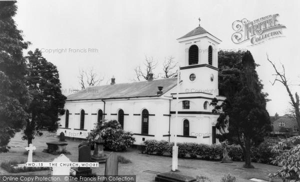 Photo of Woore, St Leonard's Church c.1965