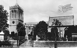 Wootton Bassett, All Saints Church c.1914