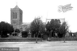 Wootton Bassett, All Saints Church c.1955