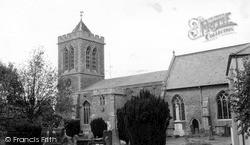 Wootton Bassett, All Saints Church c.1965