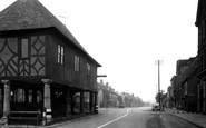 Wootton Bassett, High Street and Town Hall c1950