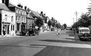 Wootton Bassett, High Street c1950