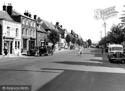 Wootton Bassett, High Street c.1950