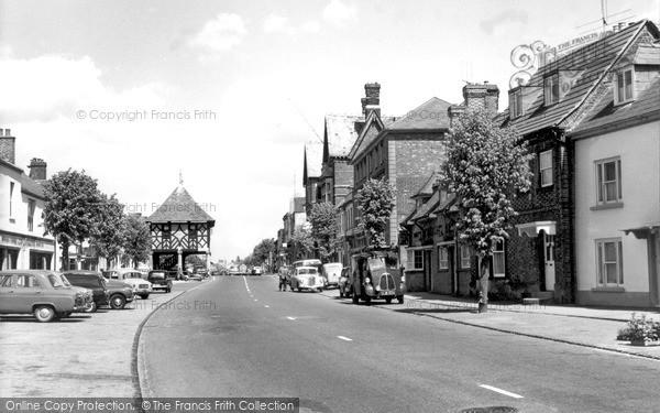 Wootton Bassett, High Street c1965