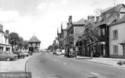 Wootton Bassett, High Street c.1965