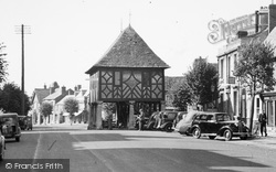 Wootton Bassett, Old Town Hall, High Street c.1950