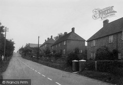 Wootton Bassett, School Hill c.1955