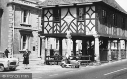 Wootton Bassett, Scooter By The Town Hall c.1965