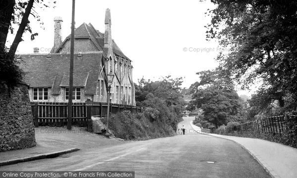 Wootton Bassett, Station Road c1955