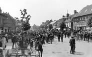 Wootton Bassett, the Market, High Street 1906