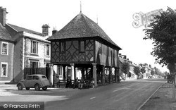 Wootton Bassett, The Town Hall c.1955