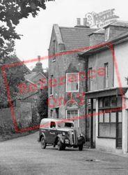 A Van In The Village c.1955, Wootton Bridge