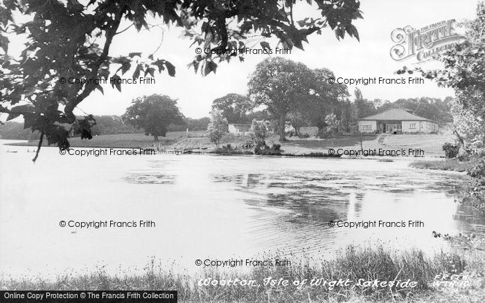 Photo of Wootton Bridge, c.1955