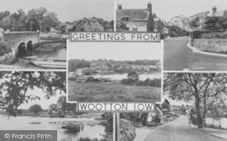 Wootton Bridge, Composite c.1960