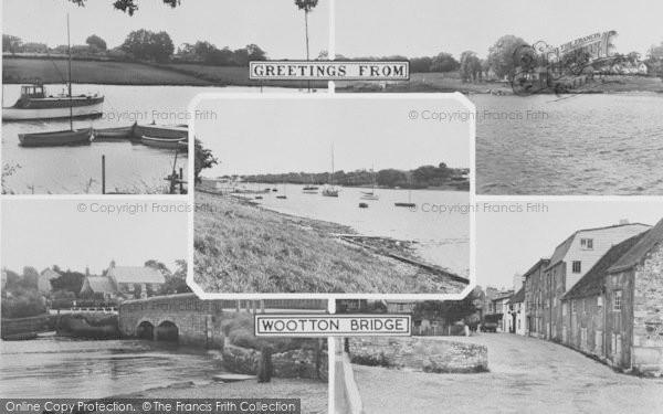 Photo of Wootton Bridge, Composite c.1960