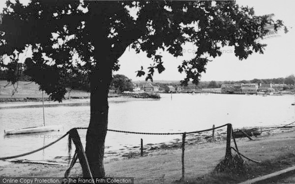 Photo of Wootton Bridge, From New Road c.1960