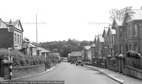 Photo of Wootton Bridge, High Street c.1955