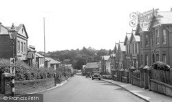 Wootton Bridge, High Street c.1955