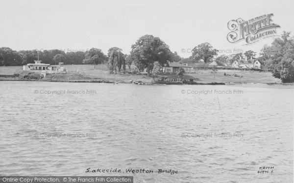 Photo of Wootton Bridge, Lakeside c.1955