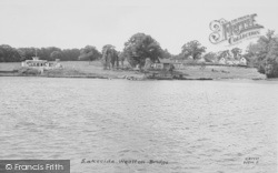Wootton Bridge, Lakeside c.1955