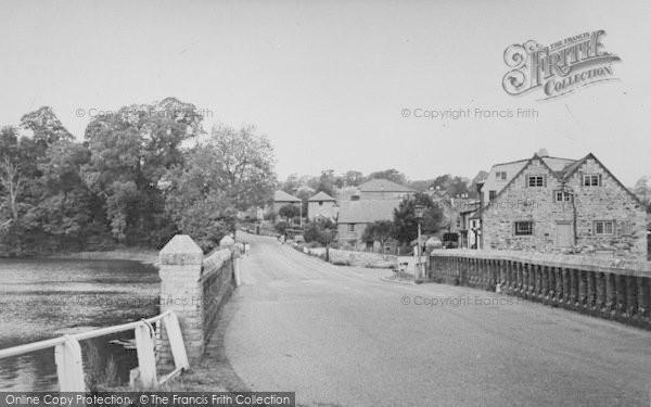 Photo of Wootton Bridge, The Bridge c.1955
