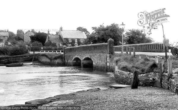 Photo of Wootton Bridge, The Bridge c.1960