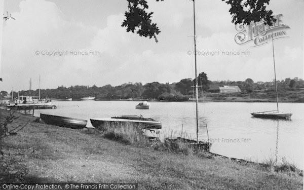 Photo of Wootton Bridge, The Creek c.1960