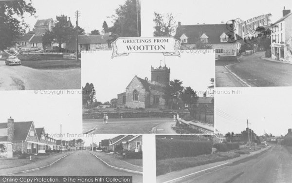 Photo of Wootton, Composite c.1965