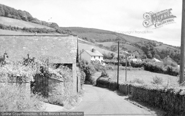 Photo of Wootton Courtenay, c.1955
