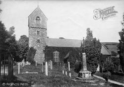 Wootton Courtenay, Church Of All Saints 1901
