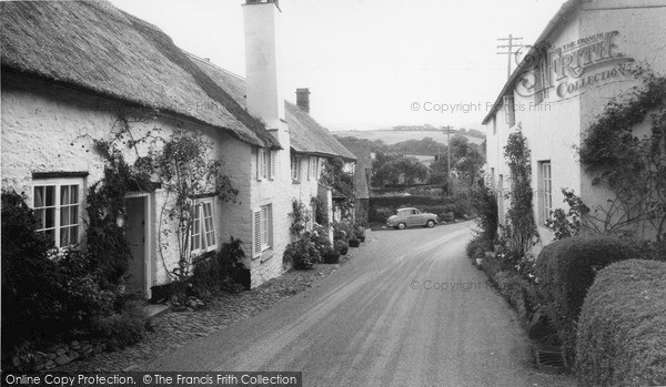 Photo of Wootton Courtenay, Lower Town c.1960