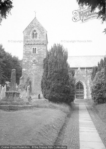 Photo of Wootton Courtenay, The Church c.1960