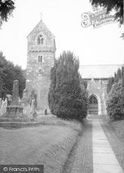 Wootton Courtenay, The Church c.1960