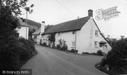 Wootton Courtenay, The Village c.1960