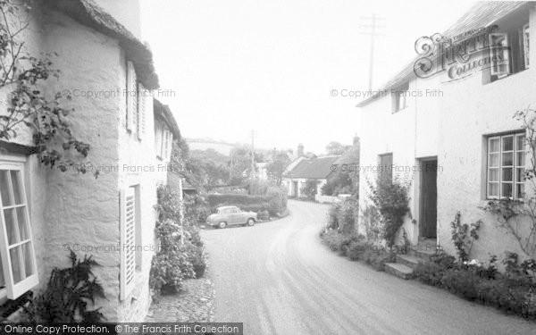 Photo of Wootton Courtenay, The Village c.1960
