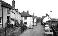 Wootton Courtenay, the Village c1960