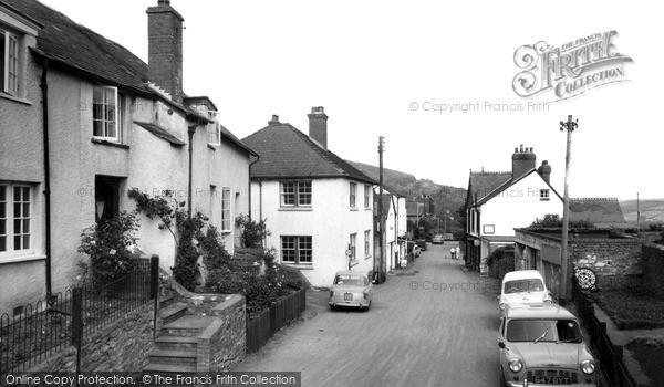 Photo of Wootton Courtenay, the Village c1960