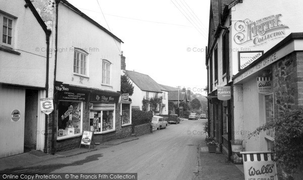 Photo of Wootton Courtenay, The Village c.1960