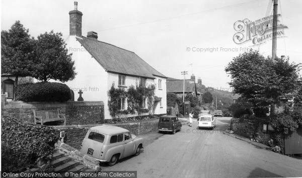 Photo of Wootton Courtenay, The Village c.1965