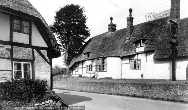 Photo of Wootton Rivers, c.1955