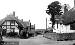 The Village c.1950, Wootton Rivers