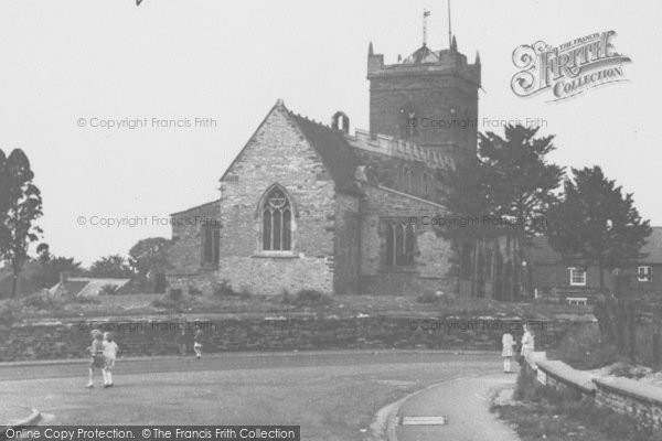 Photo of Wootton, The Church c.1965