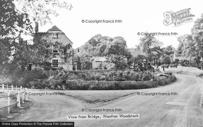 Photo of Wootton, View From Bridge c.1939
