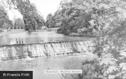 Wootton Wawen, The Waterfall c.1939