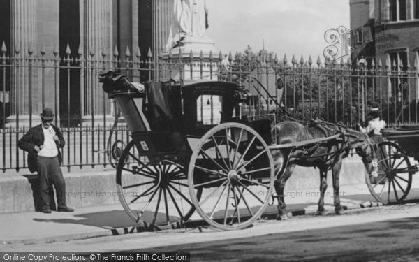 Photo of Worcester, A Hansom Cab 1899