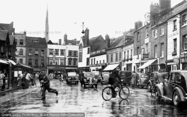 Worcester, Angel Place c1950